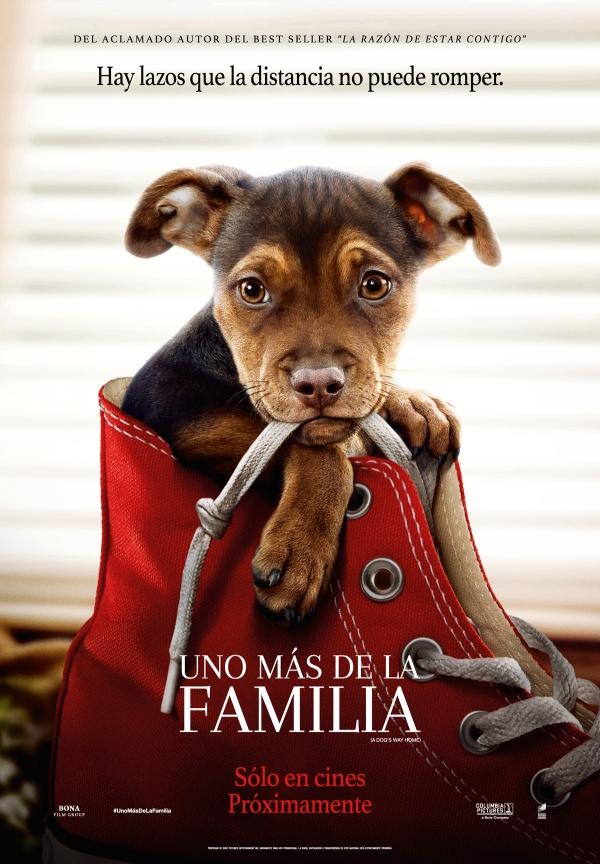 Imatge del cartell de la pel·lícula Uno más en la familia