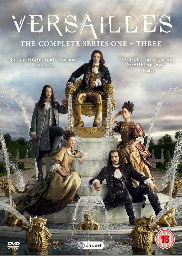 Imatge del cartell de la sèrie Versailles. Serie completa
