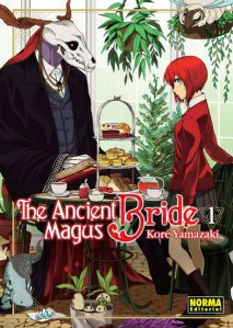 Portada del còmic Ancient magus bride
