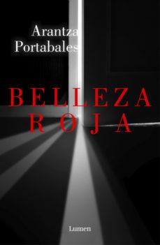 Portada de la novel·la Belleza roja d'Arantza Portabales
