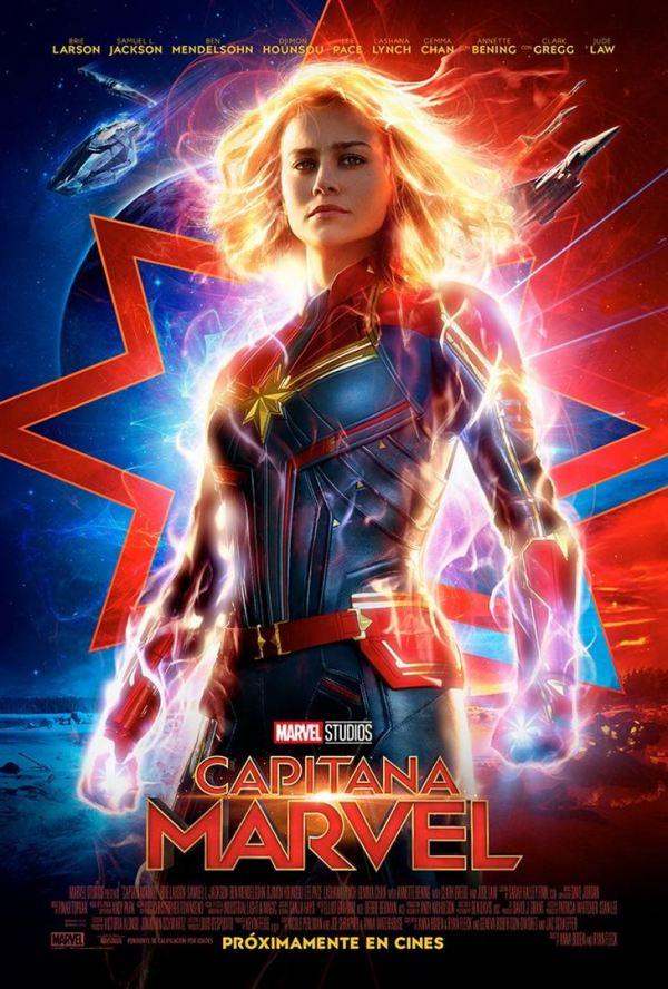 Imatge del cartell de la pel·lícula Capitana Marvel