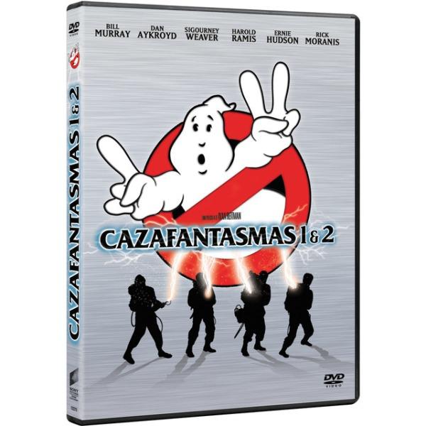 Imatge del cartell de la pel·lícula Cazafantasmas 1 y 2