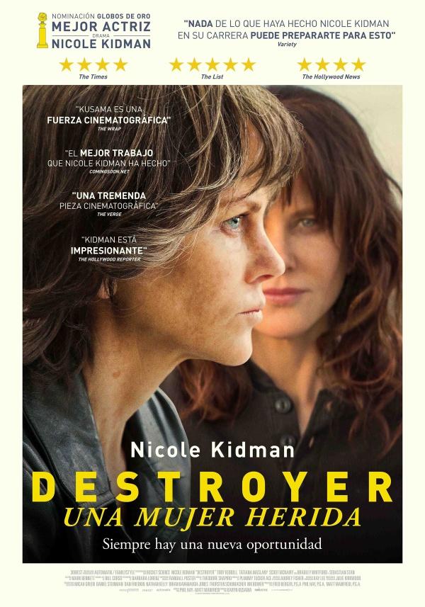 Imatge del cartell de la pel·lícula Destroyer