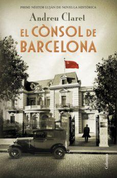 Portada de la novel·la El cònsol de Barcelona d'Andreu Clarel