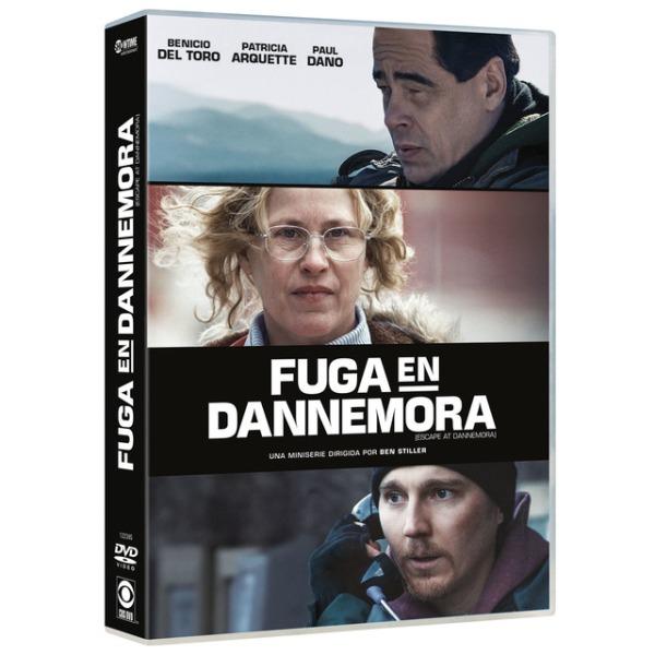 Imatge del cartell de la sèrie Fuga en Dannemora