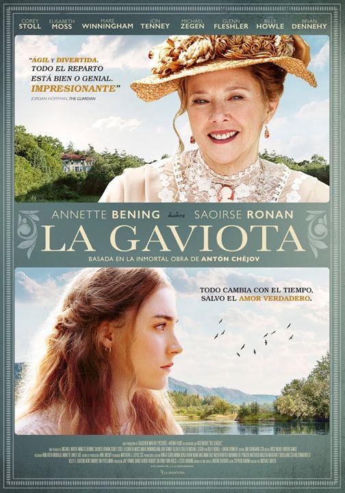 Imatge del cartell de la pel·lícula La gaviota