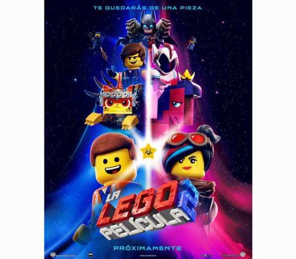 Imatge del cartell de la pel·lícula infantil La Lego película 2