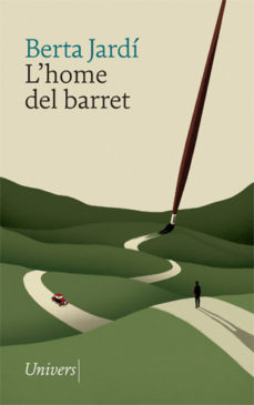 Portada de la novel·la L'home del barret de Berta Jardí