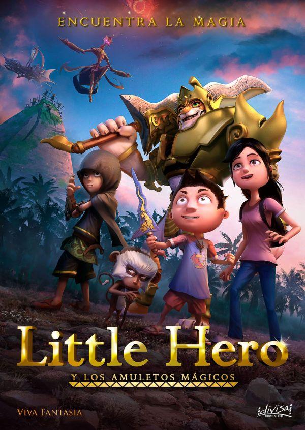 Imatge del cartell de la pel·lícula infantil Little hero