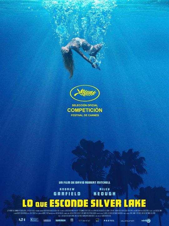 Imatge del cartell de la pel·lícula Lo que esconde Silver Lake