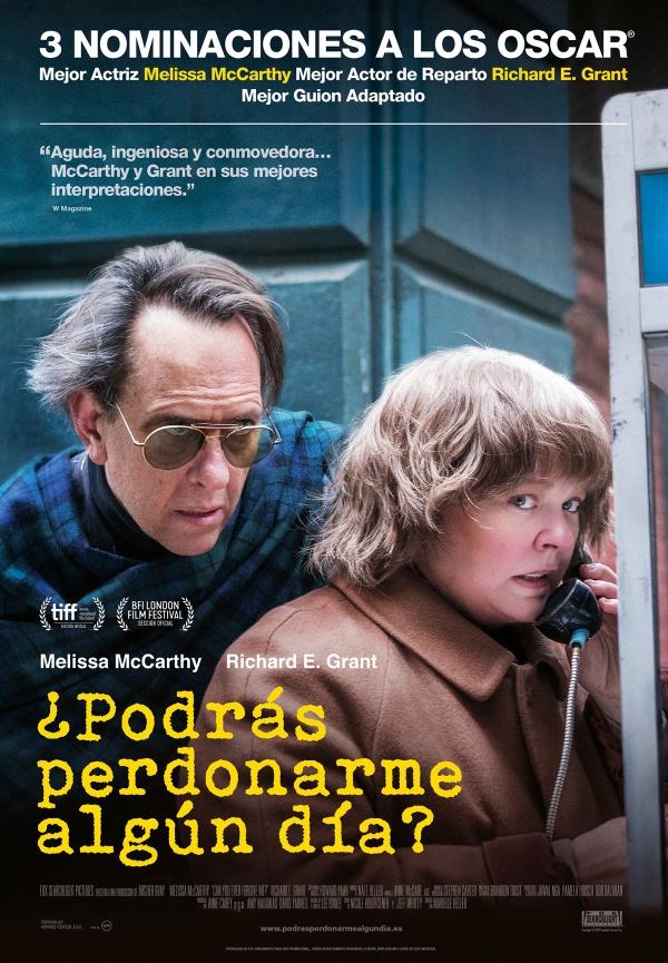 Imatge del cartell de la pel·lícula ¿Podrás perdonarme algún día?