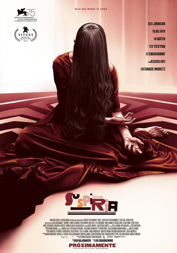 Imatge del cartell de la pel·lícula Suspiria