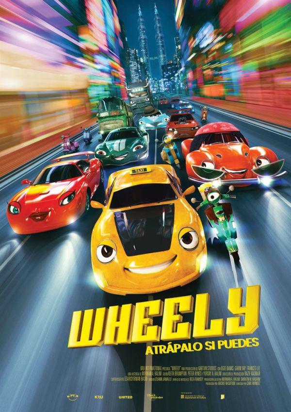 Imatge del cartell de la pel·lícula infantil Wheely