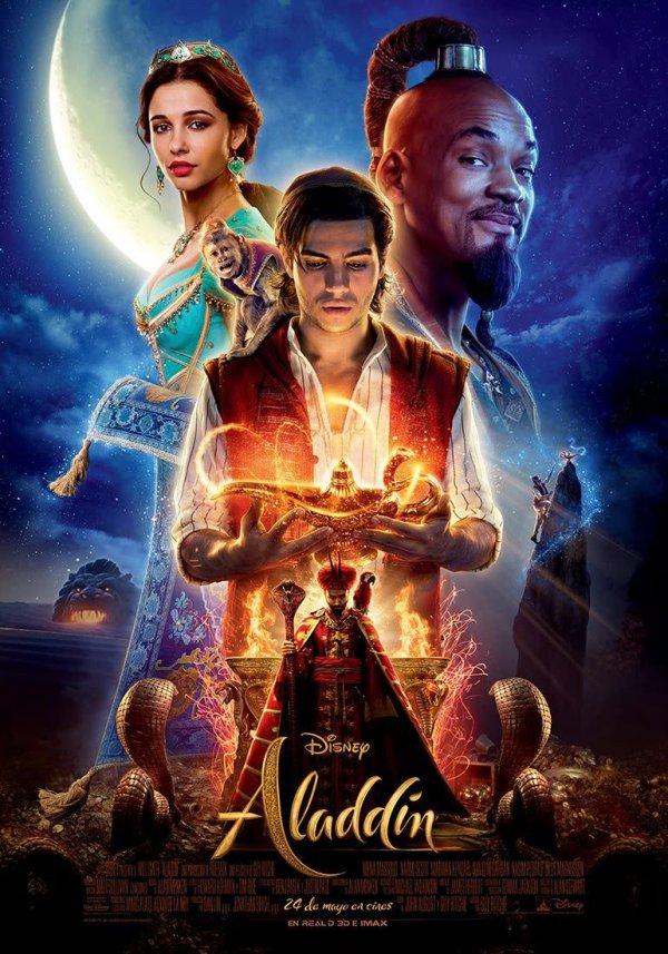 Imatge del cartell de la pel·lícula Aladdin