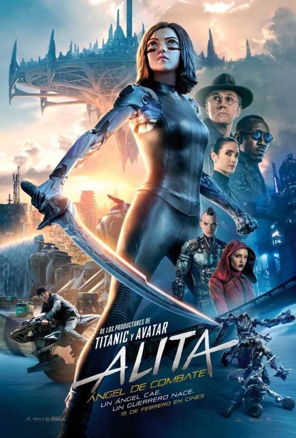 Imatge del cartell de la pel·lícula Alita ángel de combate