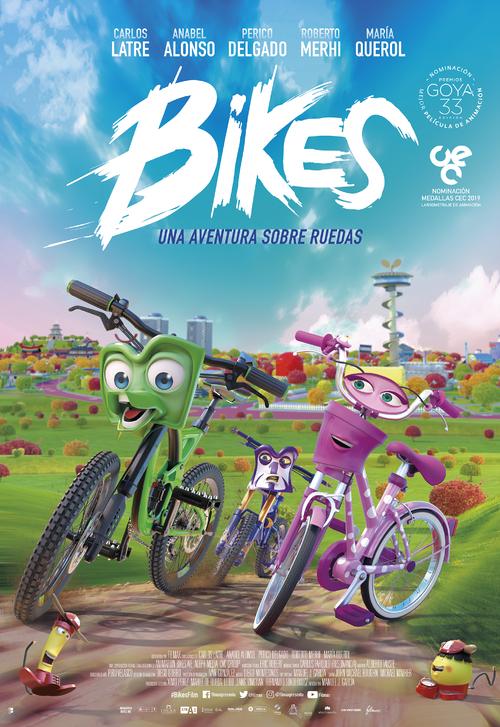 Imatge del cartell de la pel·lícula Bikes