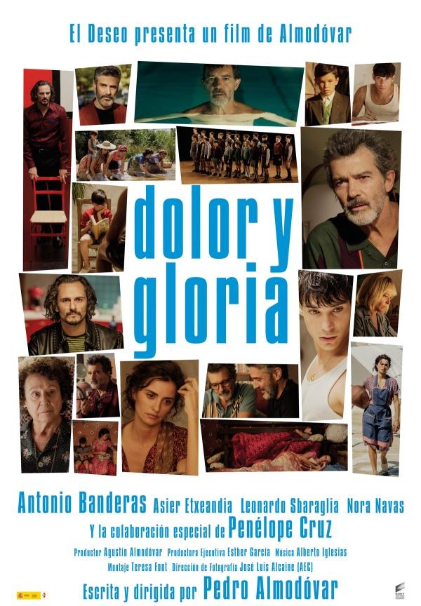 Imatge del cartell de la pel·lícula Dolor y gloria