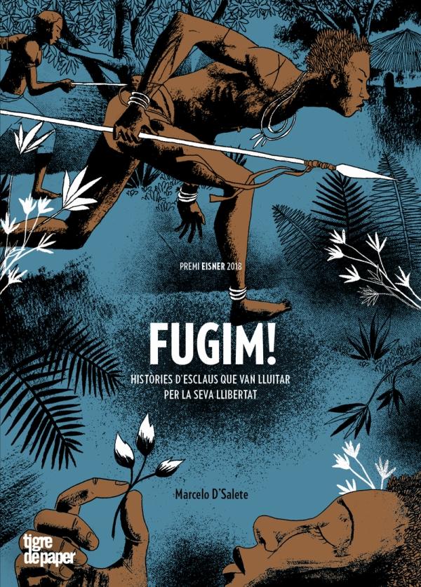 Imatge de la portada del còmic Fugim!