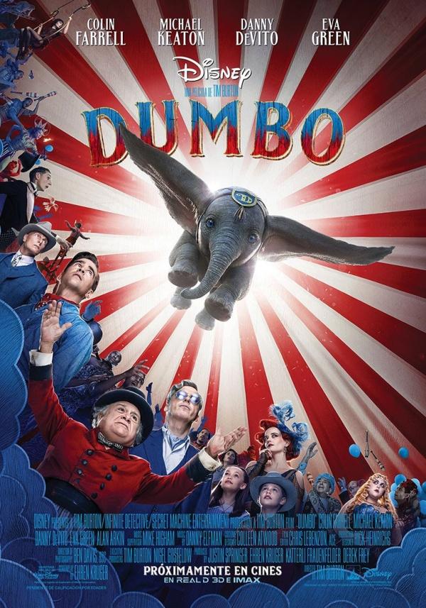 Imatge del cartell de la pel·lícula Dumbo