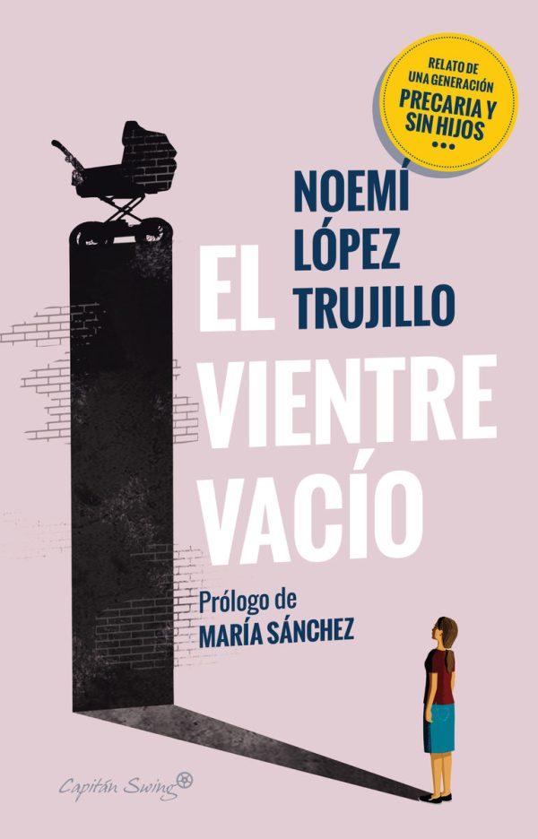 """Portada del llibre """"El vientre vacío"""" de Noemí López Trujillo"""