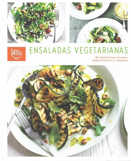 """Portada del llibre """"Ensaladas vegetarianas"""""""