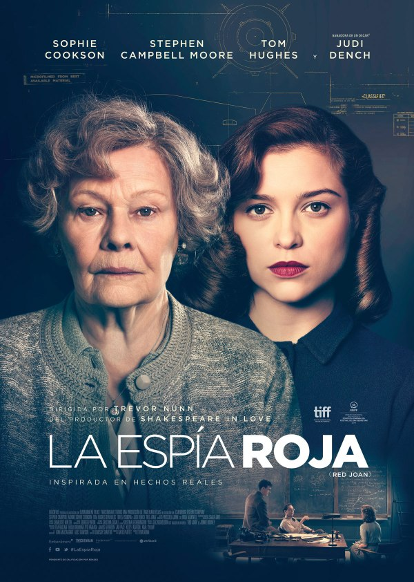 Imatge del cartell de la pel·lícula La espía roja
