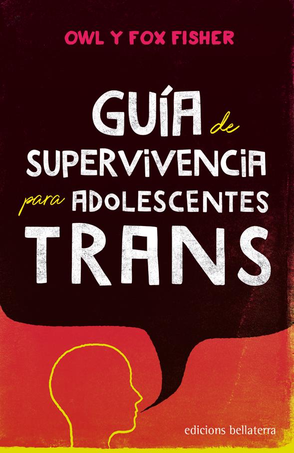 """Portada del llibre """"Guía de supervivencia para adolescentes trans"""" d'Owl i Fox Fisher"""