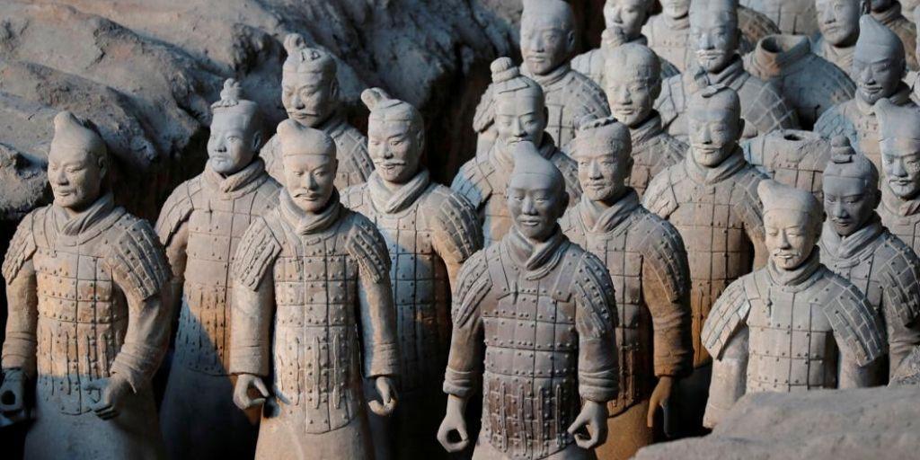Imatge de les terracotes de Xi'An