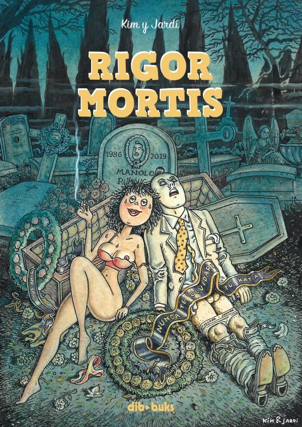 Imatge de la portada del còmic Rigor mortis