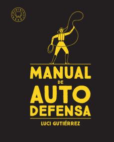 """Portada del llibre """"Manual de autodefensa"""" de Luci Gutiérrez"""