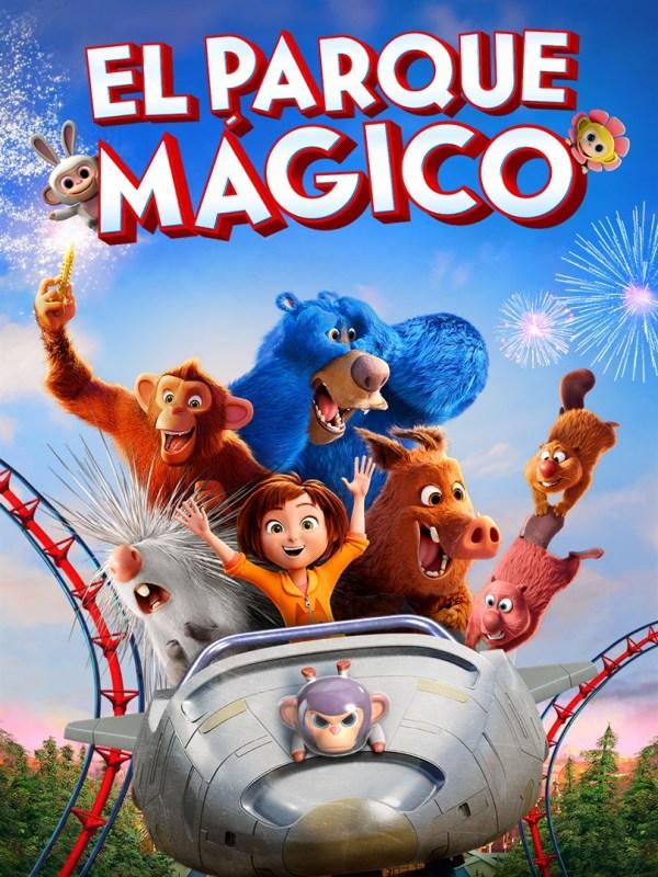 Imatge del cartell de la pel·lícula El parque mágico