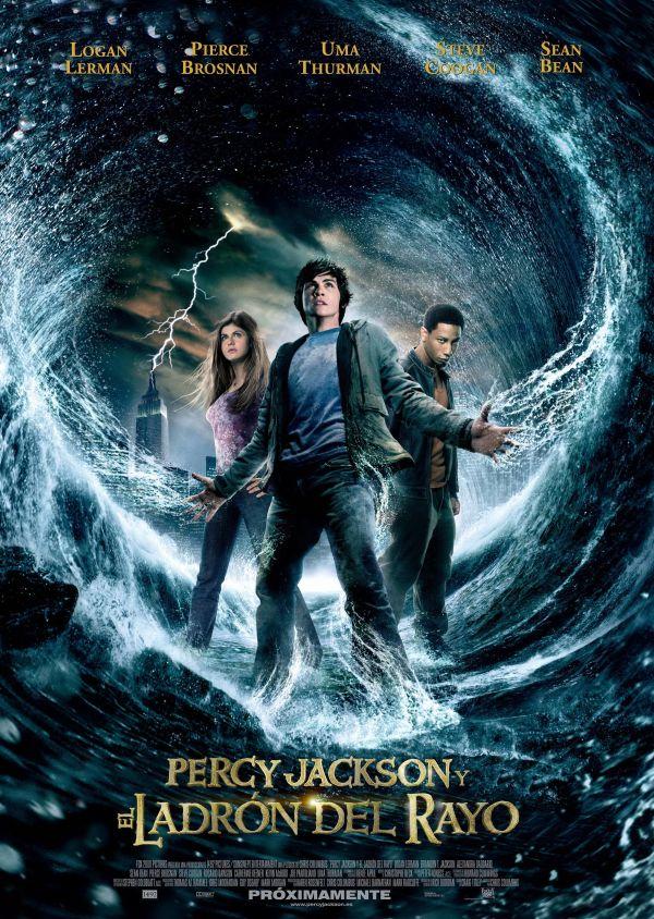Imatge del cartell de la pel·lícula Percy Jackson y el ladrón del rayo