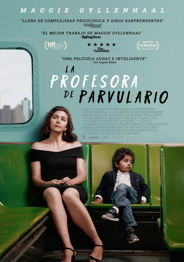Imatge del cartell de la pel·lícula La profesora de parvulario