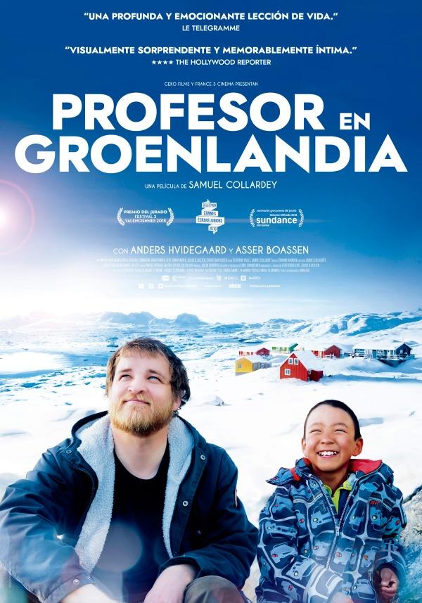Imatge del cartell de la pel·lícula Profesor en Groenlandia
