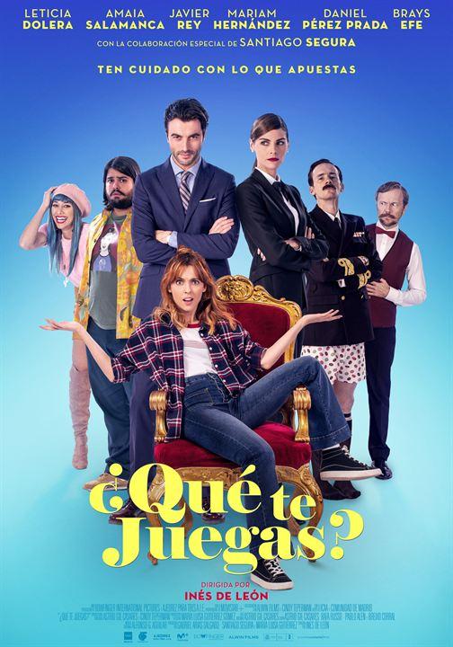 Imatge del cartell de la pel·lícula ¿Qué te juegas?