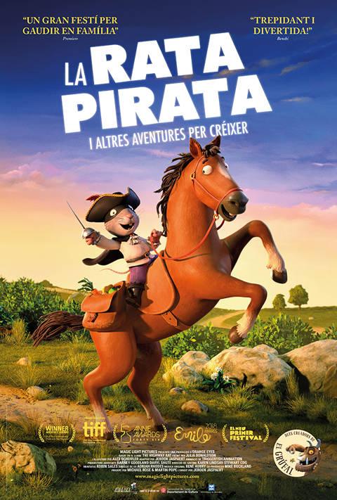 Imatge del cartell de la pel·lícula La rata pirata