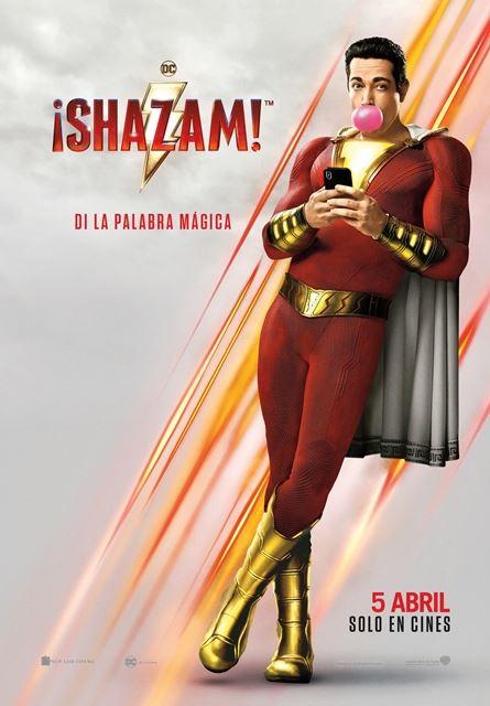 Imatge del cartell de la pel·lícula ¡Shazam!