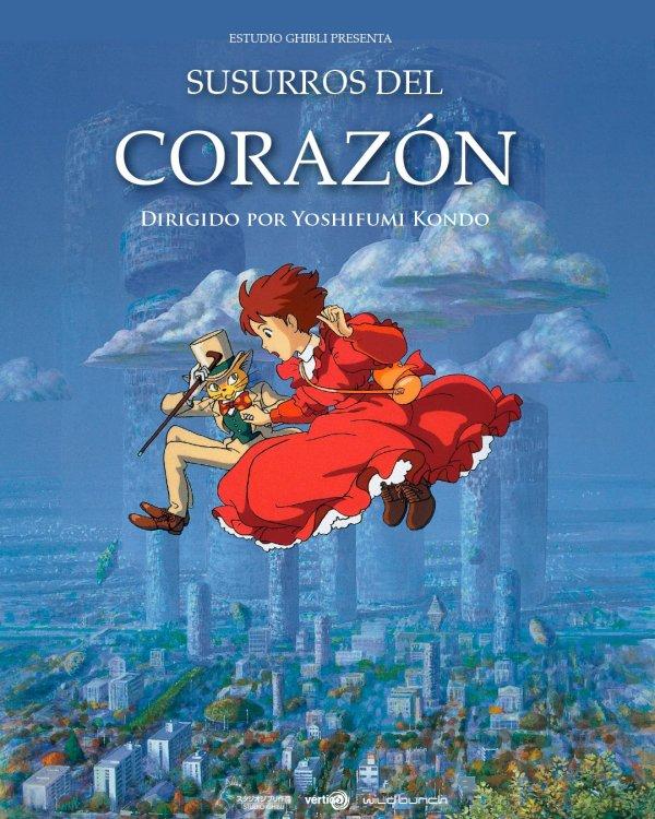 Imatge del cartell de la pel·lícula Susurros del corazón