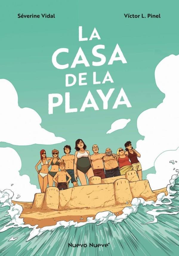 Imatge de la portada del còmic La casa en la playa