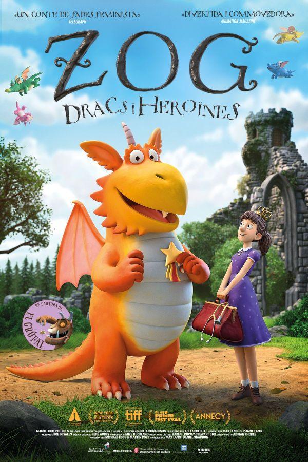 Imatge del cartell de la pel·lícula Zog dracs i heroïnes