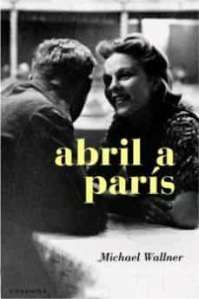 Portada de la novel·la Abril a París