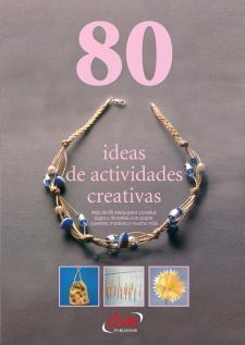 Portada del llibre 80 ideas de actividades creativas