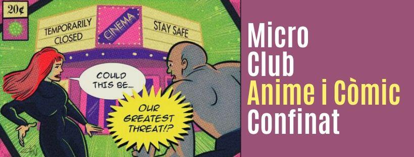 Imatge de l'activitat Micro club d'anime i còmic confinatúlies d'art confinades