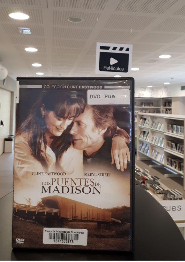Imatge del DVD de la pel·lícula Los puentes de Madison
