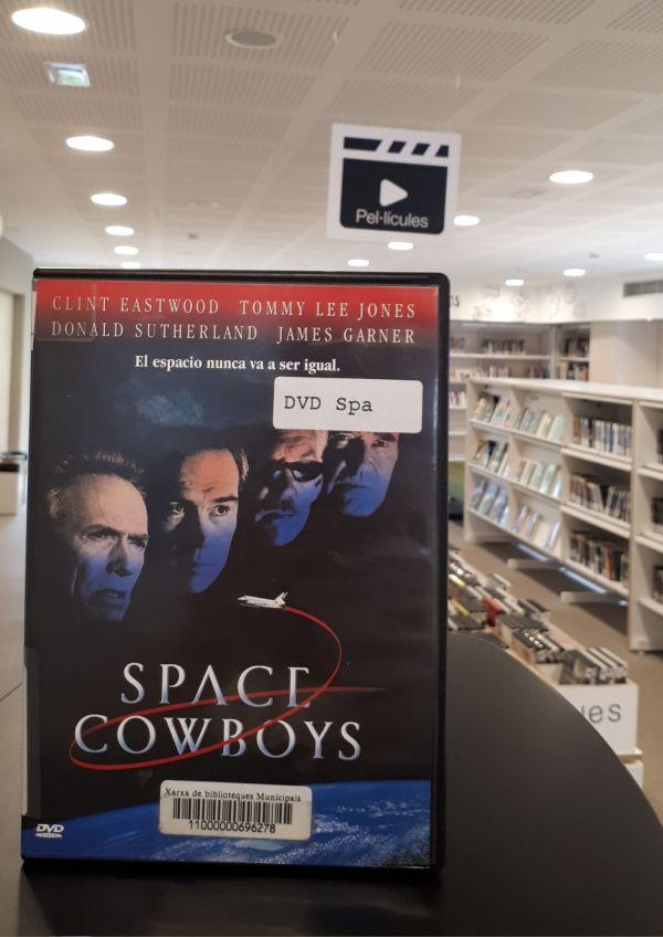 Imatge del DVD de la pel·lícula Space Cowboys
