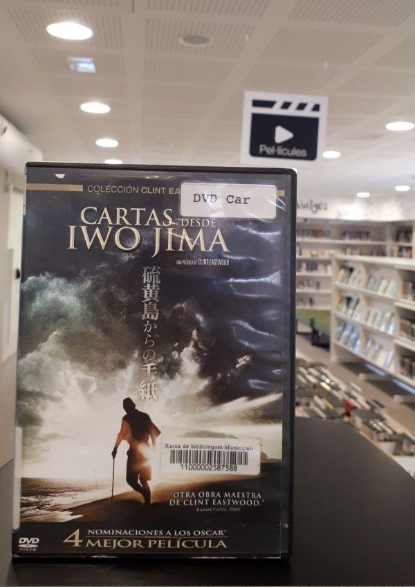 Imatge del DVD de la pel·lícula Cartas desde Iwo Jima