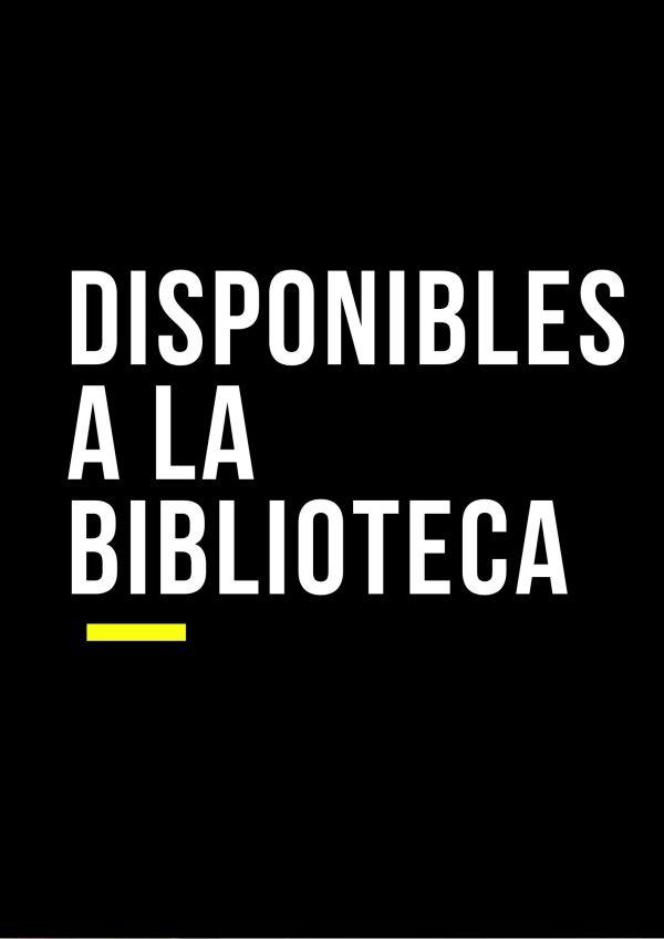 """Imatge amb el text """"Disponibles a la biblioteca"""""""