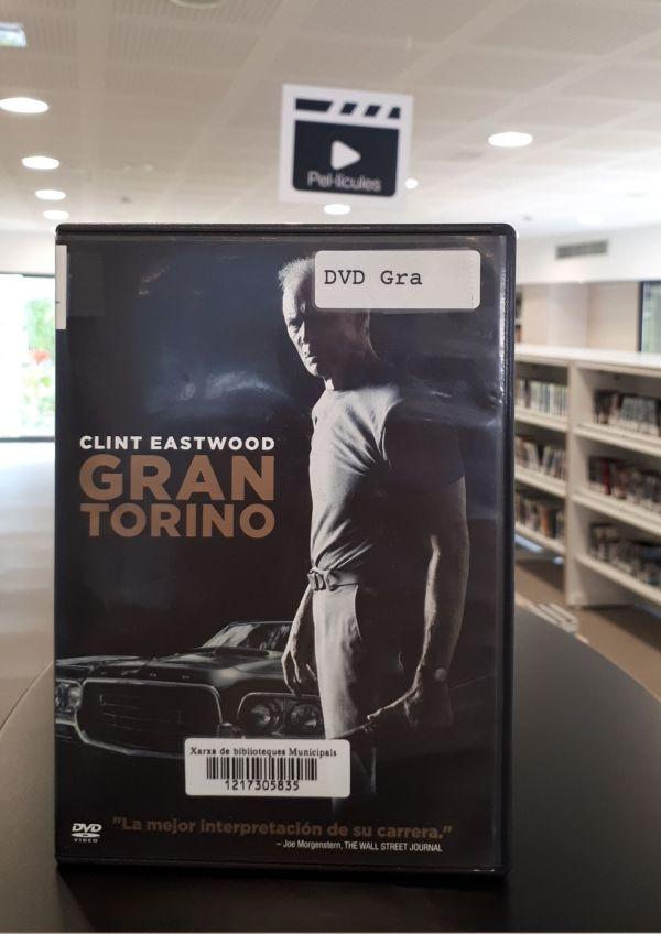 Imatge del DVD de la pel·lícula Gran Torino