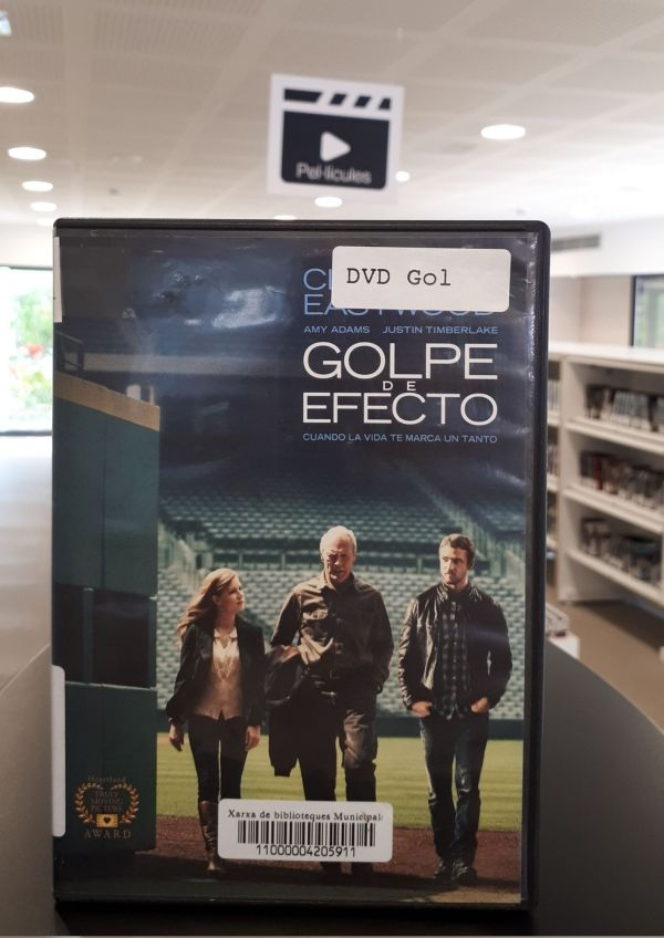 Imatge del DVD de la pel·lícula Golpe de efecto