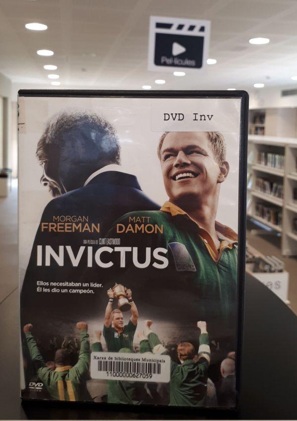 Imatge del DVD de la pel·lícula Invictus